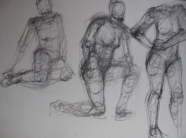 Life drawing models