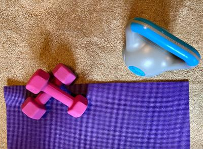 Resources for staying fit at home