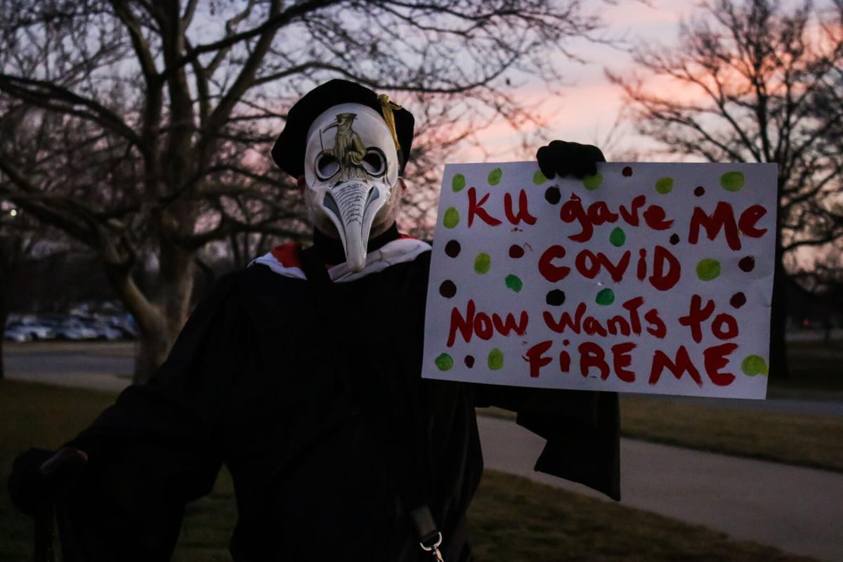 Masked professor