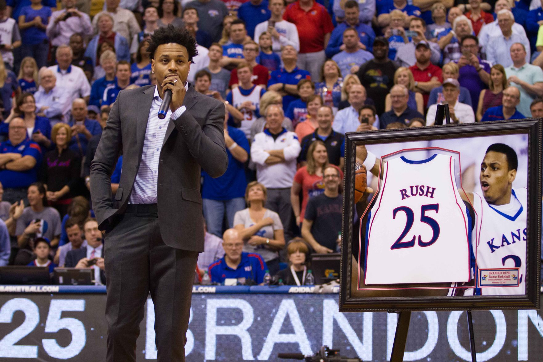 Nine years after his playing days, Brandon Rush returns to Allen ...