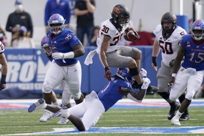 'It's been a blessing': KU football defensive lineman ...