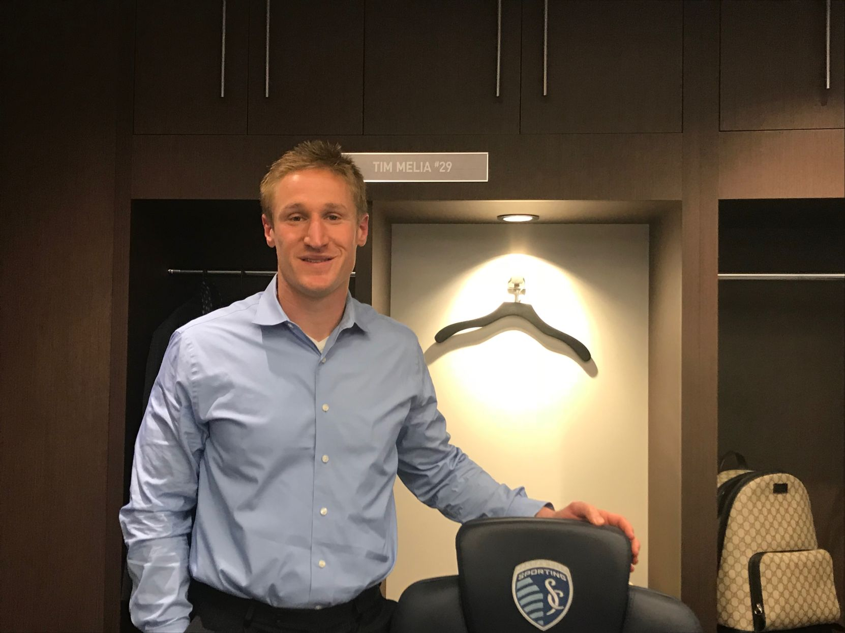 day in the life what it takes for sporting kc goalkeeper tim melia rh kansan com