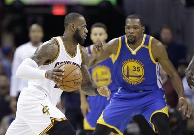 d49bcc4ad9c2 NBA Finals Warriors Cavaliers Basketball. Cleveland Cavaliers forward LeBron  James ...