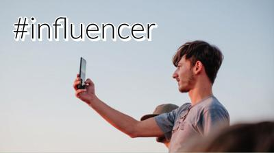 Influencer graphic