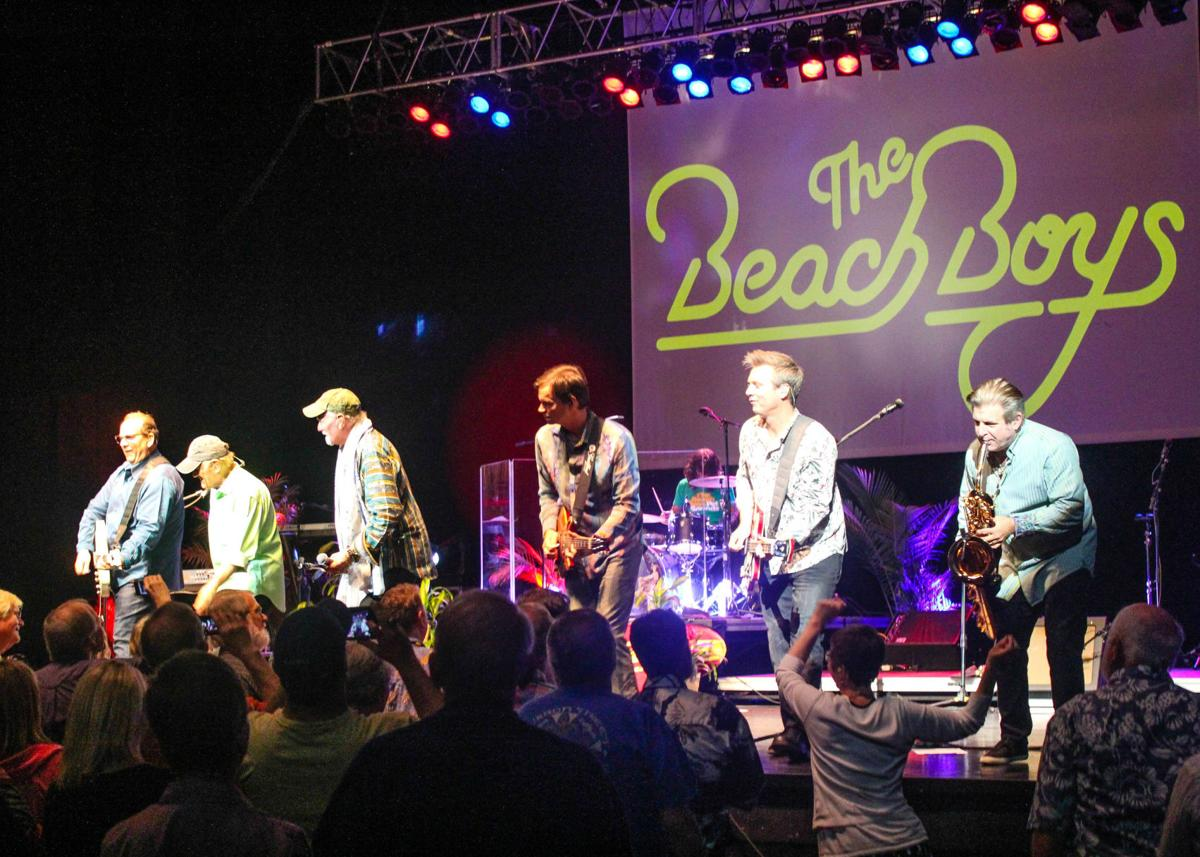 The Beach Boys Perform At Lied Center On April 19 In Front Of A Full House Band Originally Formed 1961