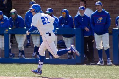 check out 8bc4a 02c4b Kansas baseball falls short in 14-11 slugfest with Creighton ...