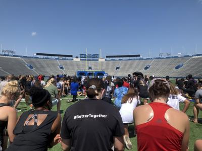 March concluding at David Booth Memorial Stadium
