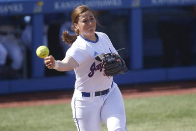 the best attitude cb2b0 a2dfc KU softball's Jessie Roane looks ahead to life in new ...