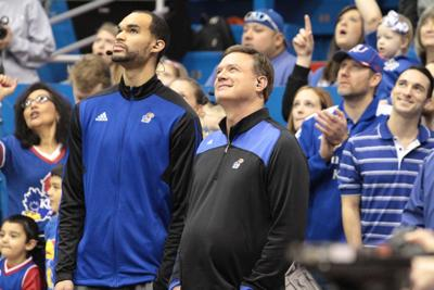 Perry Ellis and Bill Self