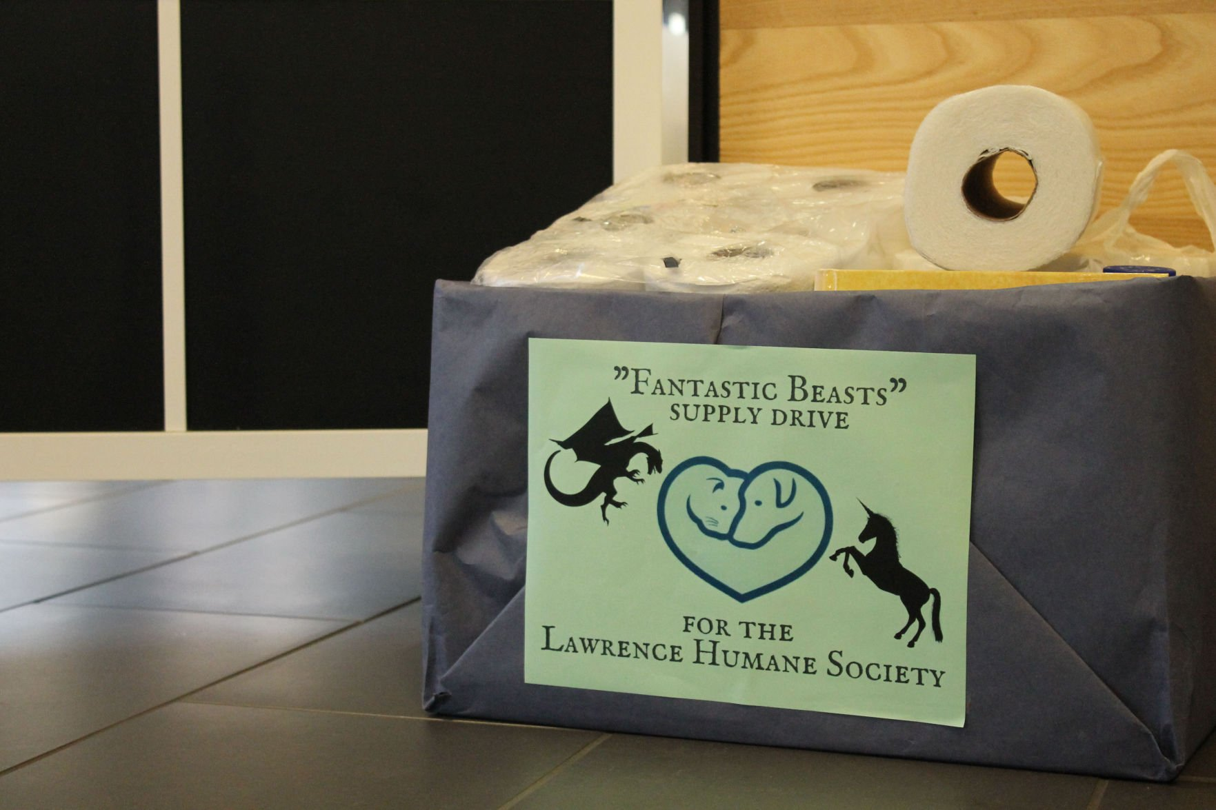 Lawrence Public Library Benefits U0027fantastic Beastsu0027 With Harry Potter Themed  Supply Drive