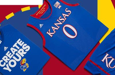 5de961873 Kansas and Adidas reveal new postseason basketball uniforms