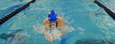 Kate Steward at 2021 Big 12 Championships