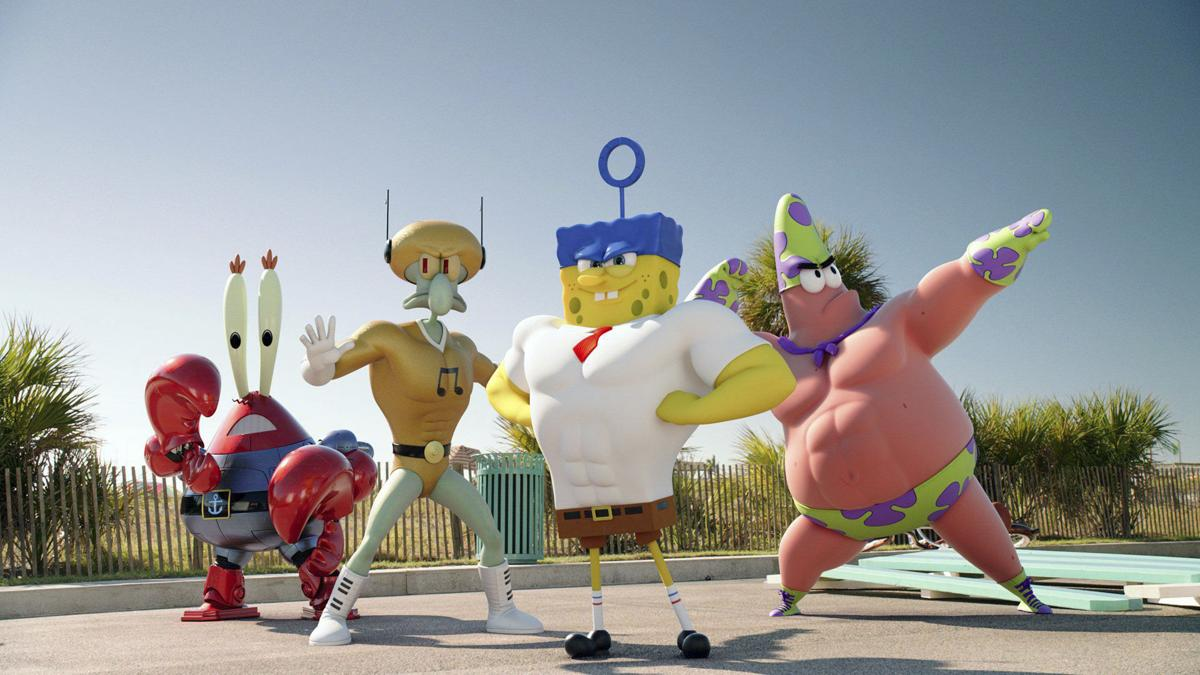 movie review u0027spongebob u0027 soaks up laughs underwater but sells out