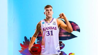 Kansas men's basketball adds grad transfer Cam Martin