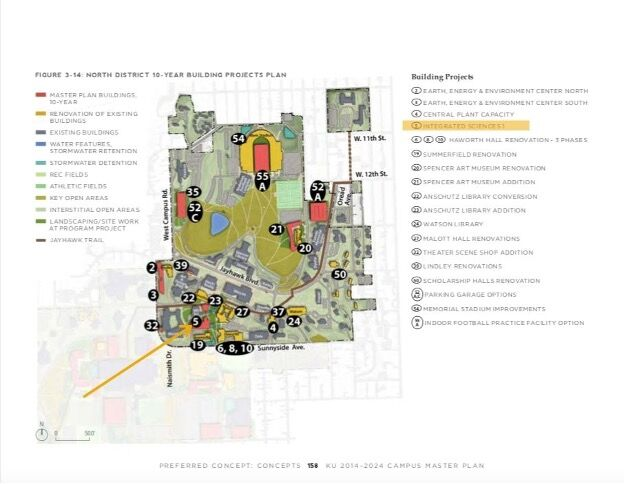 ISB plan map