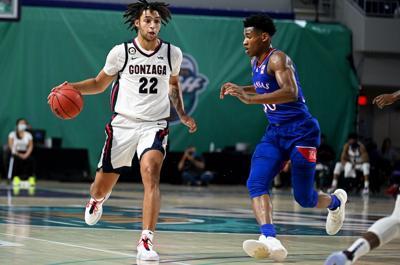Kansas men's basketball vs. Gonzaga