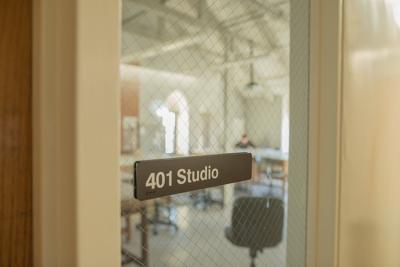 Marvin Hall is home to many studio classes, including 401 Studio