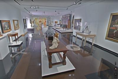 Empty Spencer Museum of Art