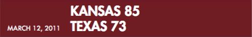 2011 score