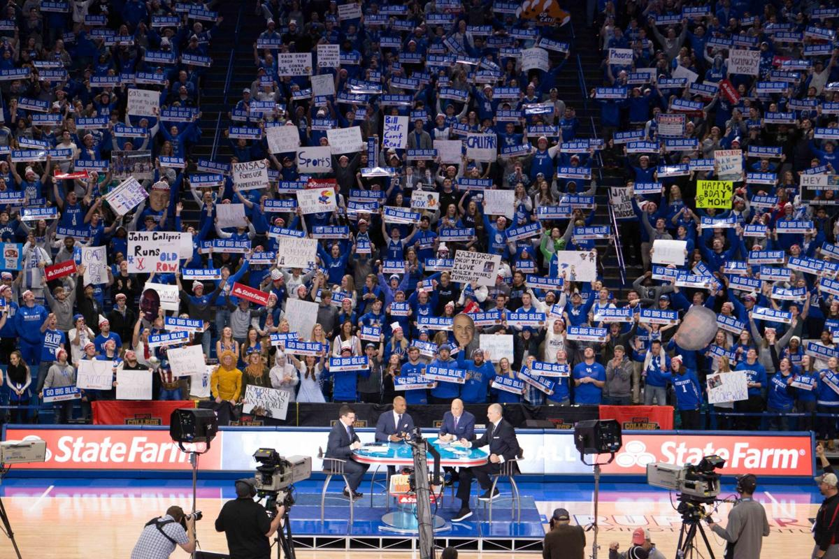 College GameDay in Rupp Arena