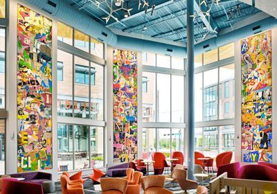 KU professor features new mosaic artwork at Johnson County