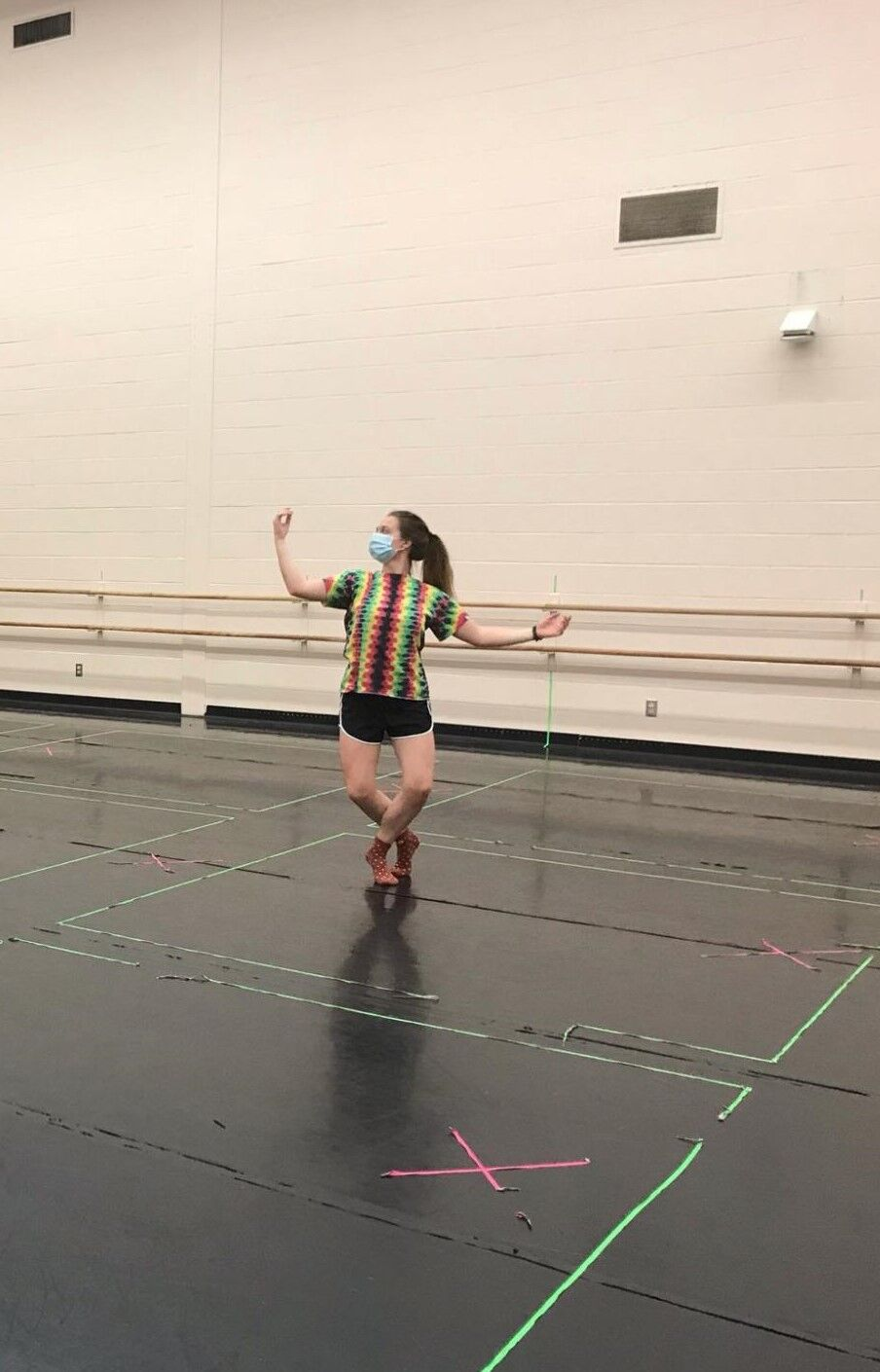 Theatre performance dance practice