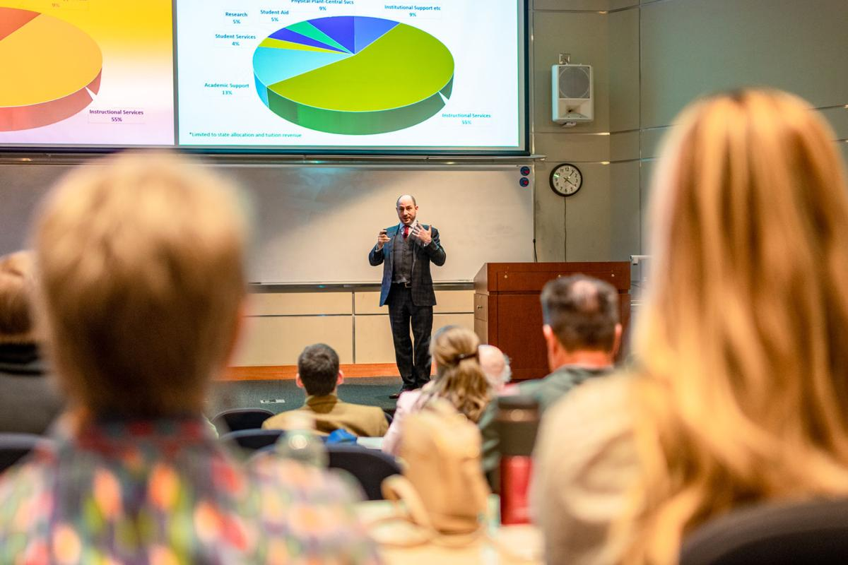 provost outlines next steps of budget cuts faculty still wants