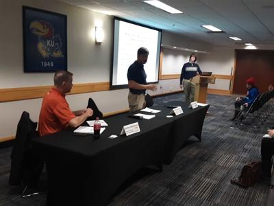 AAU press conference