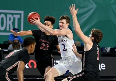 Kansas men's basketball vs. St. Joseph's