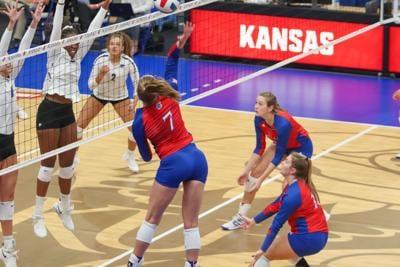 Kansas vs. Kansas State volleyball