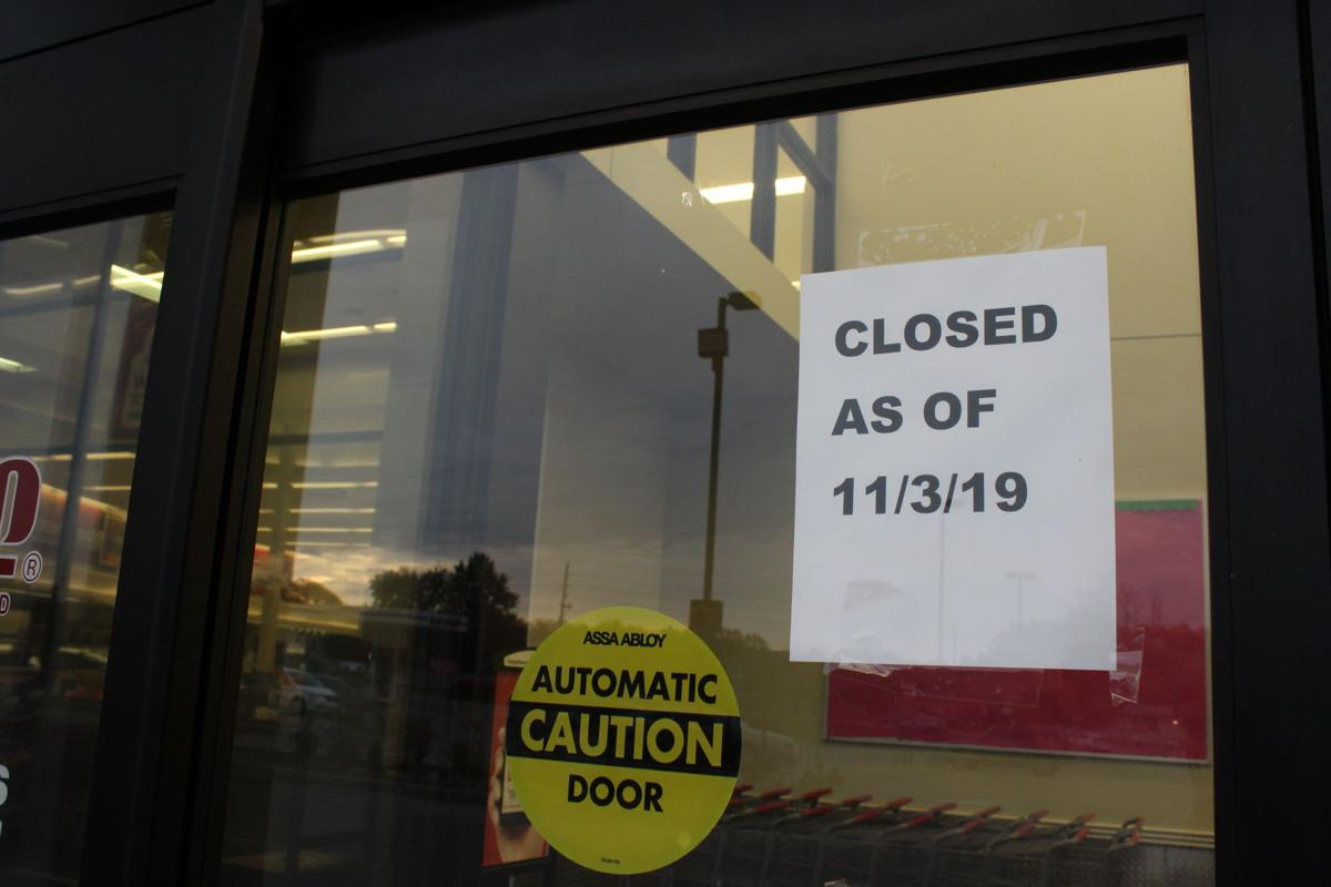 Closed as of...