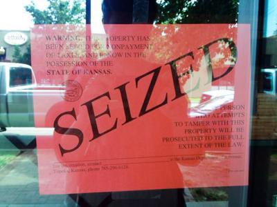 Mirth Café seized by Kansas Department of Revenue