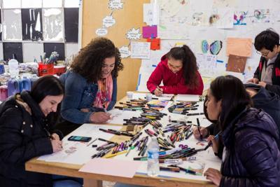 Wak'ó Mujeres Phụ nữ Women Mural