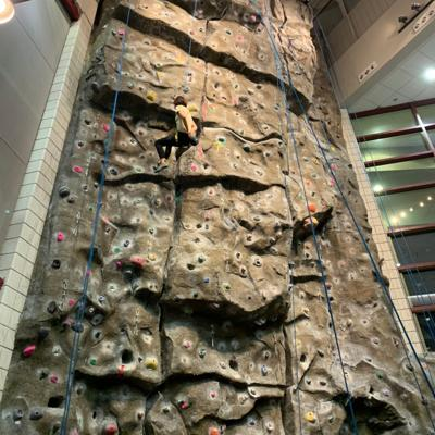 Do this: Climb the rock wall