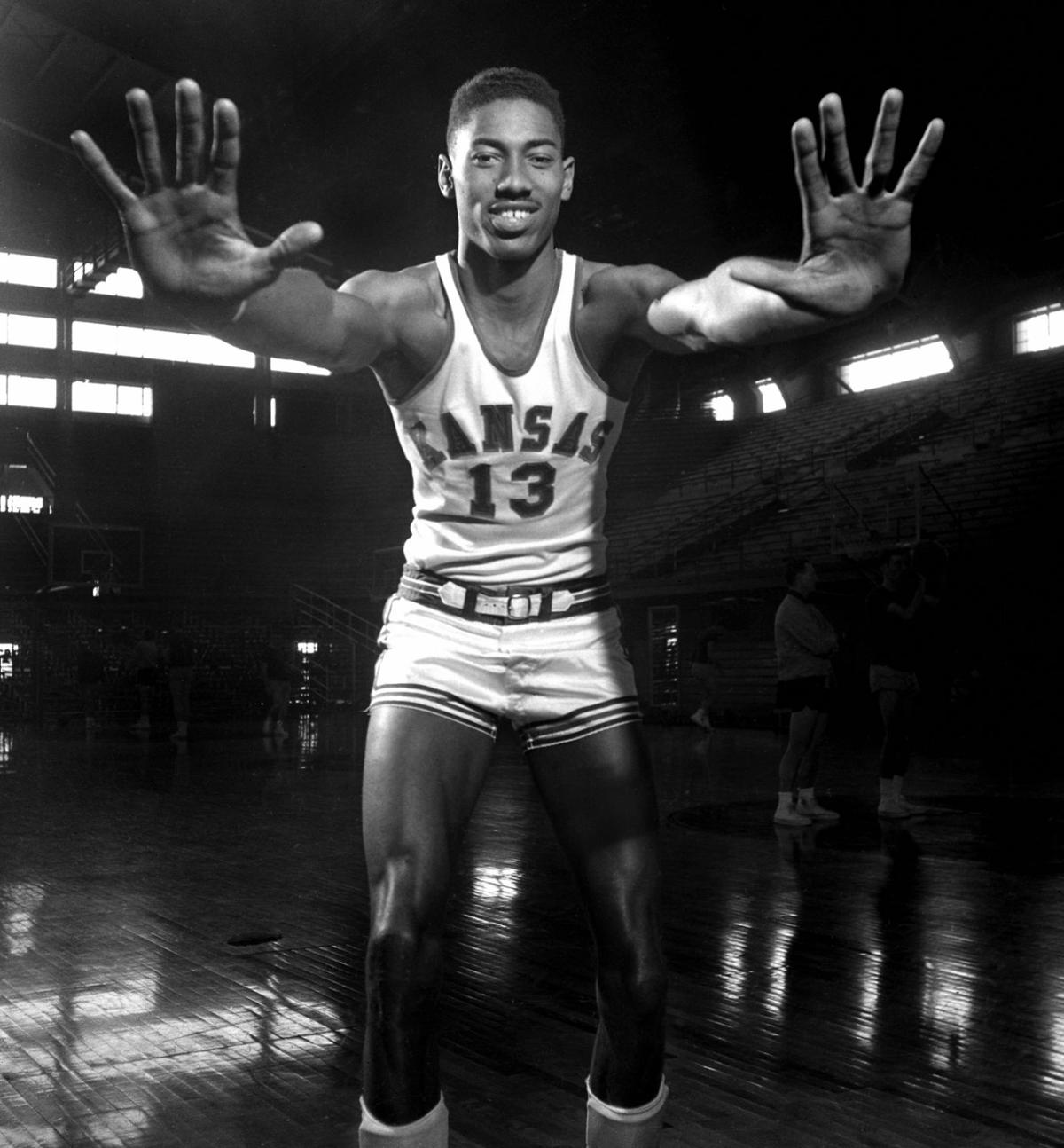 Before his prolific NBA career Wilt Chamberlain excelled at