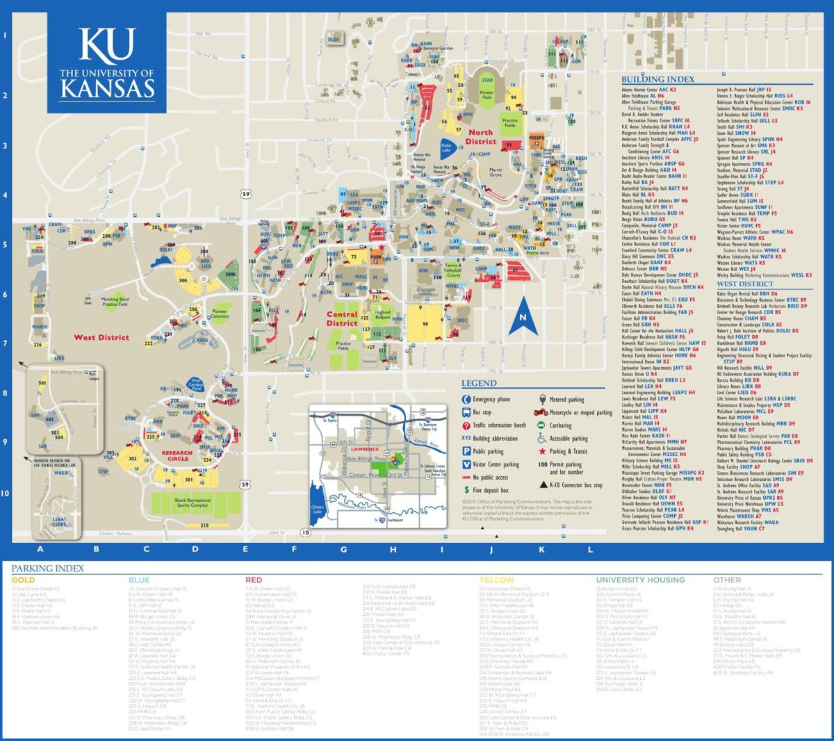 Ku Campus Construction Leads To Updates In Ada Accessibility News