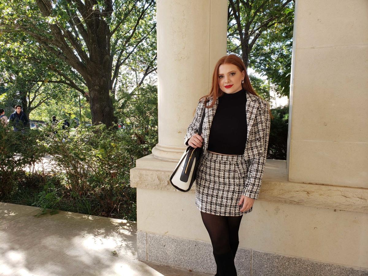 Campus Couture: Alicia Getty 1