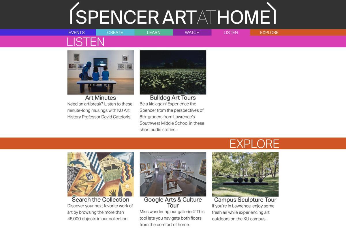 Spencer at home web portal
