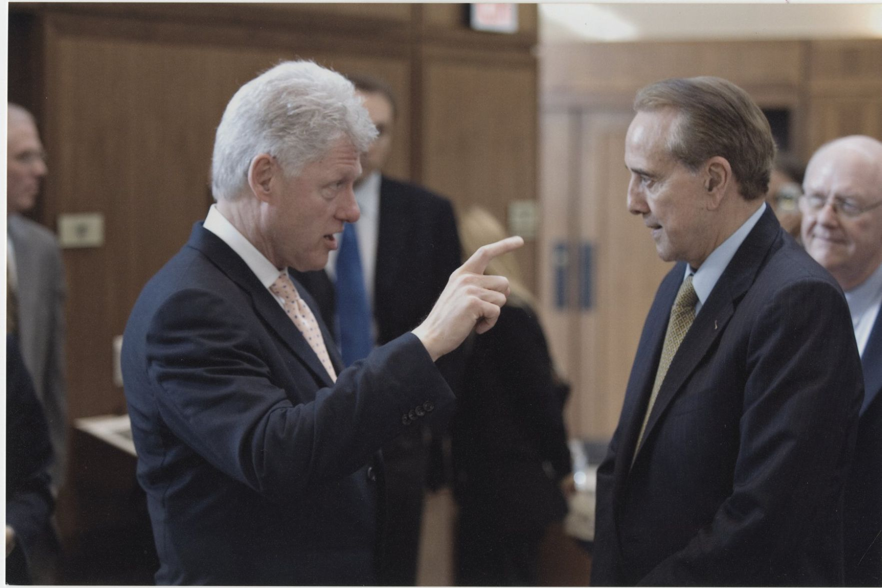 impeachment lingers under bill clintons presidency after the scandal History does repeat itself on november 5, the american people re-elected bill clinton to a second term in the face of allegations of serious abuses of power by the president and members of his administration.