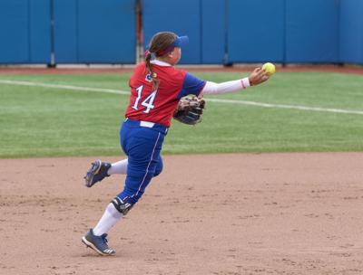 Sydnee Ramsey throws the ball
