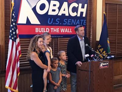 Kobach Senate Announcement