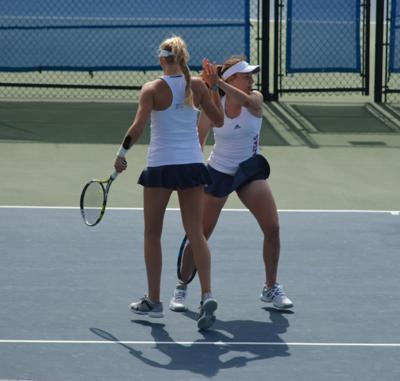 Two members of KU women's tennis named to Academic All-Big