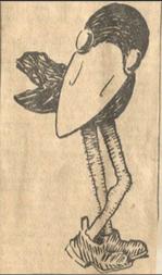 First Jayhawk Cartoon