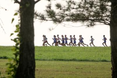 Kansas cross country races at Bob Timmons Classic
