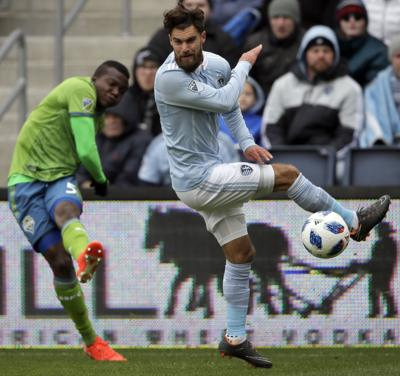 MLS Sounders Sporting KC Soccer