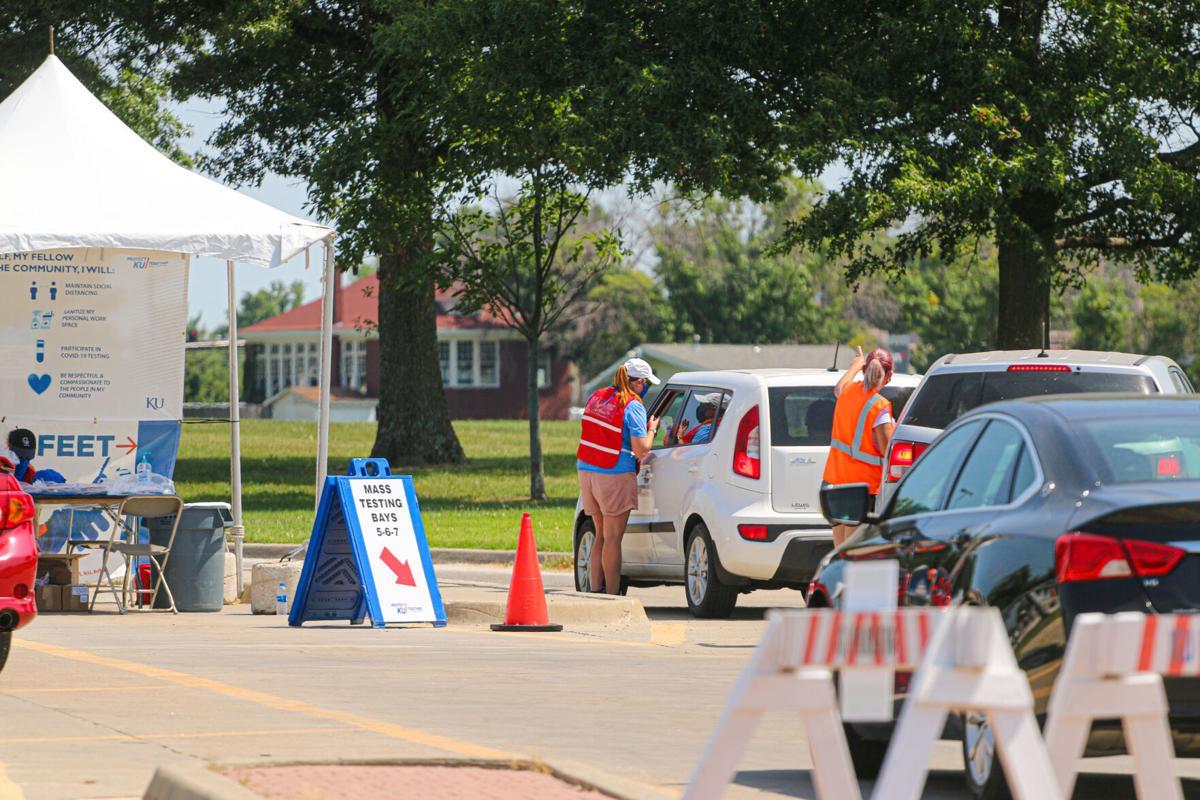 Coronavirus Testing Center Aug 22