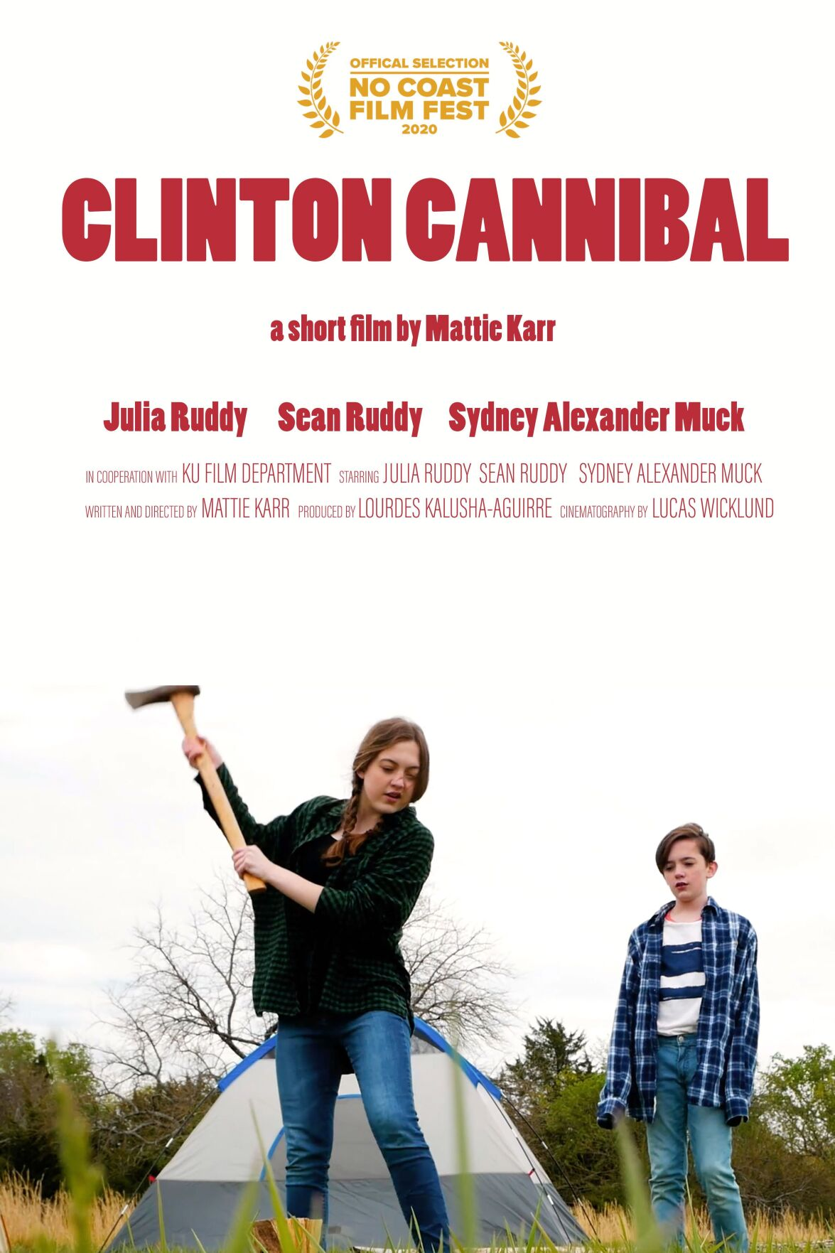 """Clinton Cannibal"" Poster"