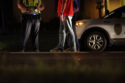 DUI checkpoint on Tennessee Street (copy)
