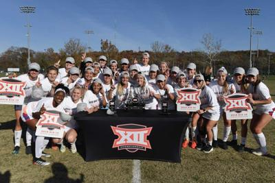 Soccer Big 12 champs