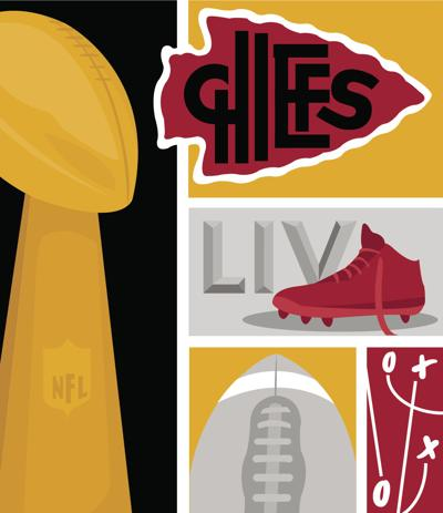Chiefs Super Bowl Illustration